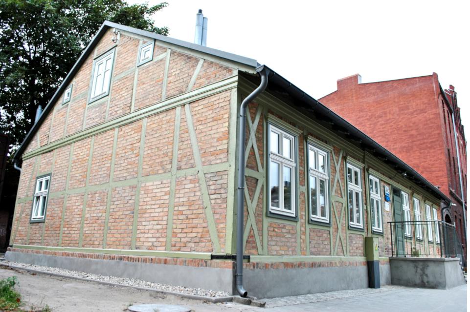 Realizacja remontu budynku przy ulicy Na Zaspę 34C