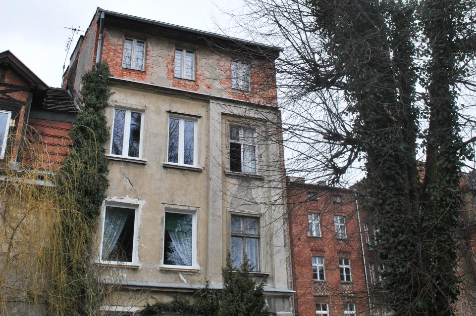 Realizacja remontu budynku przy ulicy Plac Wałowy 5A