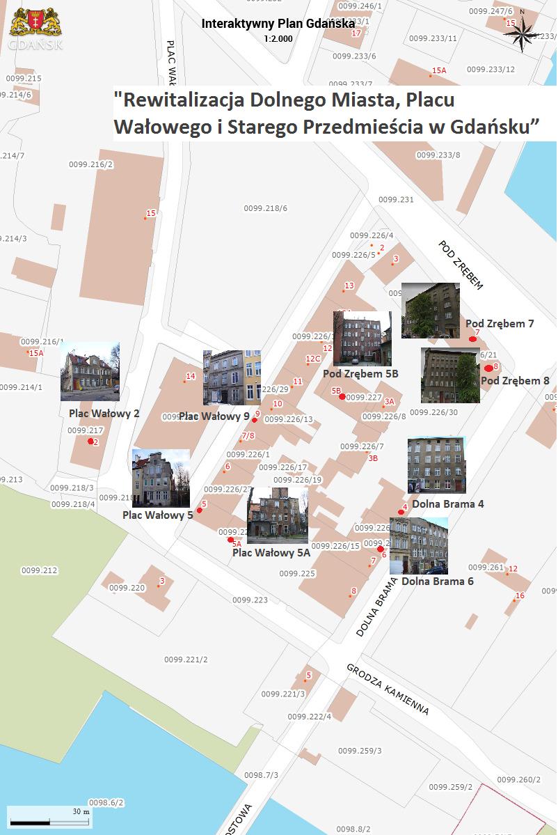 Dolne miasto - budynki komunalne
