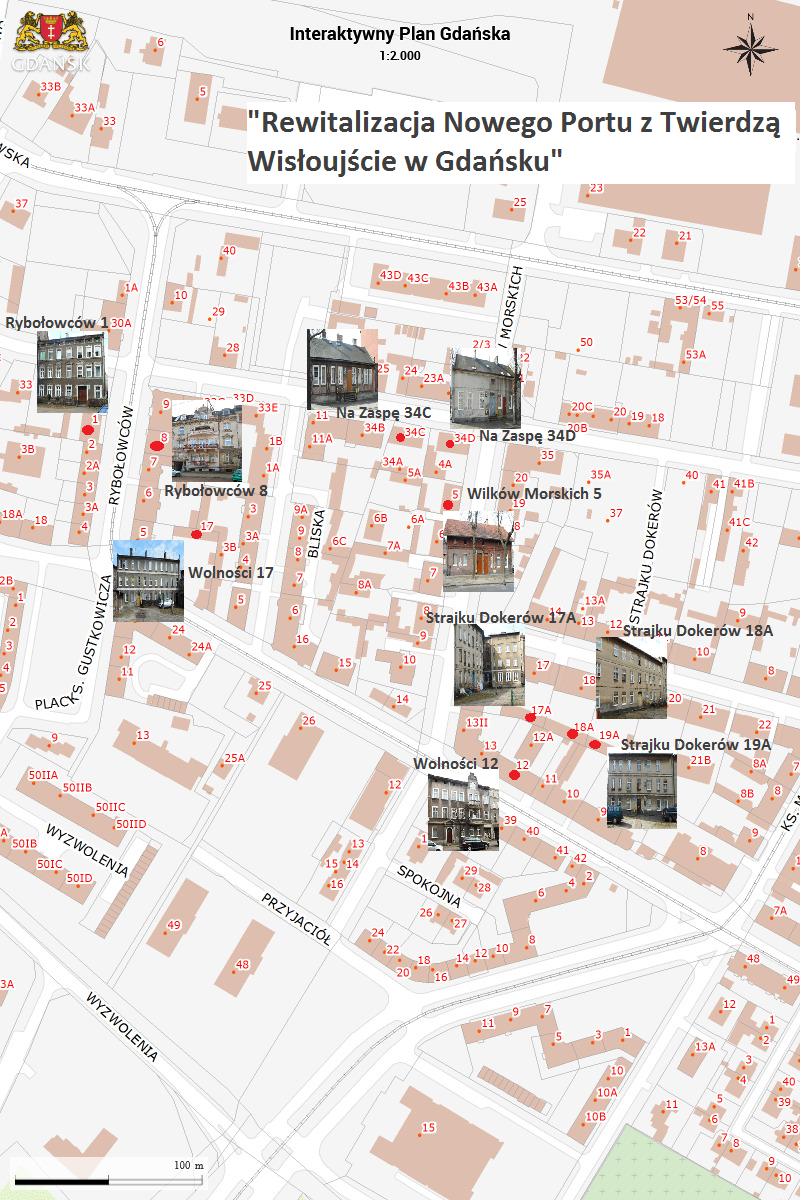 NowyPort - budynki komunalne