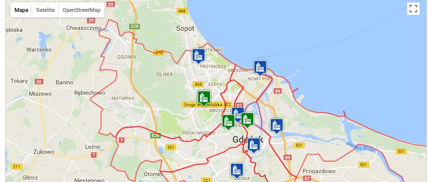 UO Mini mapa